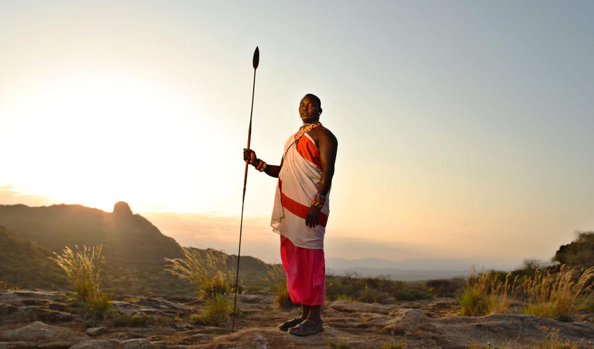 The Samburu culture is a big part of the experience