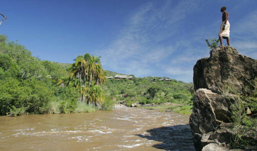 Overlooking the Ewaso Nyiro River