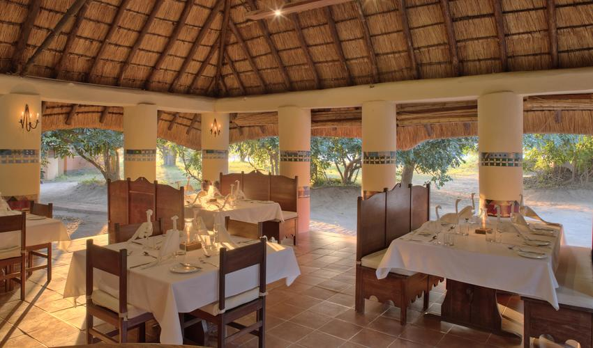 Guests booked on the safari package are able to choose from our varied menu for all their meals including the daily specials board taking advantage of what's available seasonally and from the kitchen garden.