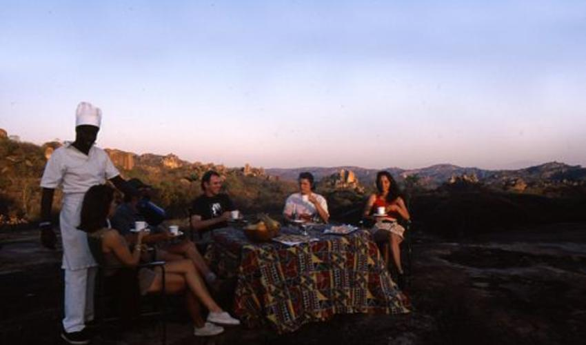 Enjoy the solitude of the Matobo Hills