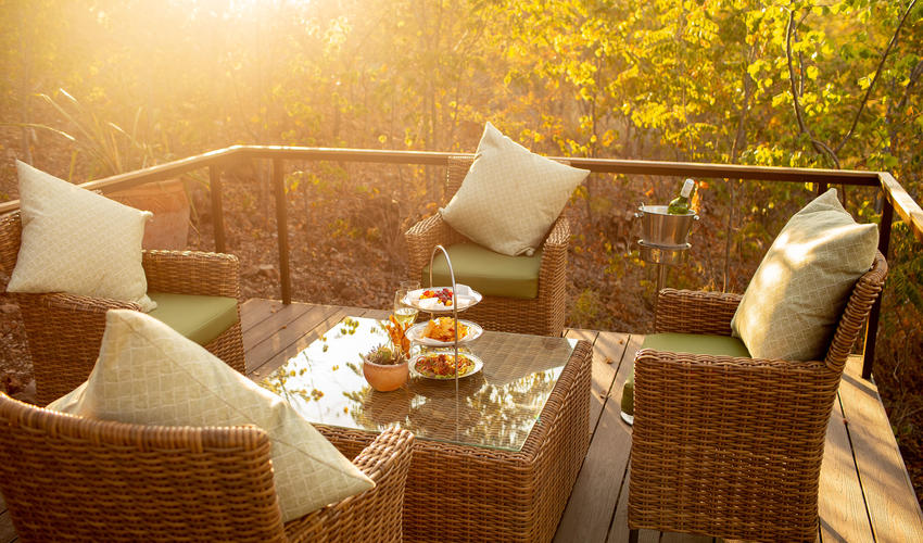 The perfect spot for afternoon tea
