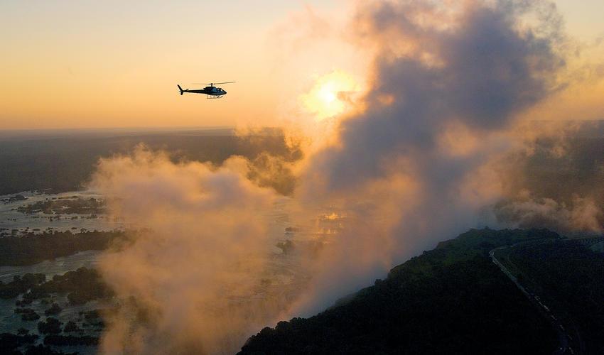 Flight of Angels at The Victoria Falls