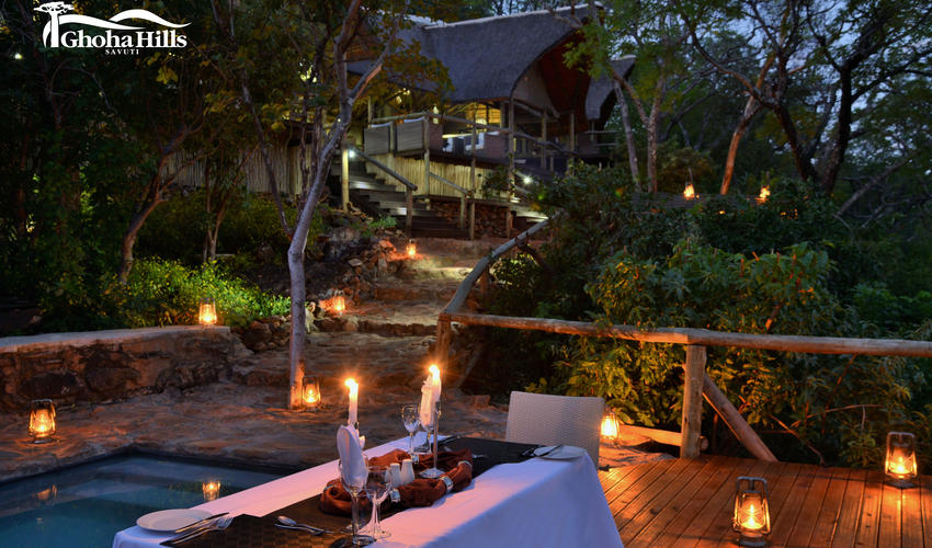 Private Dining for Honeymooners