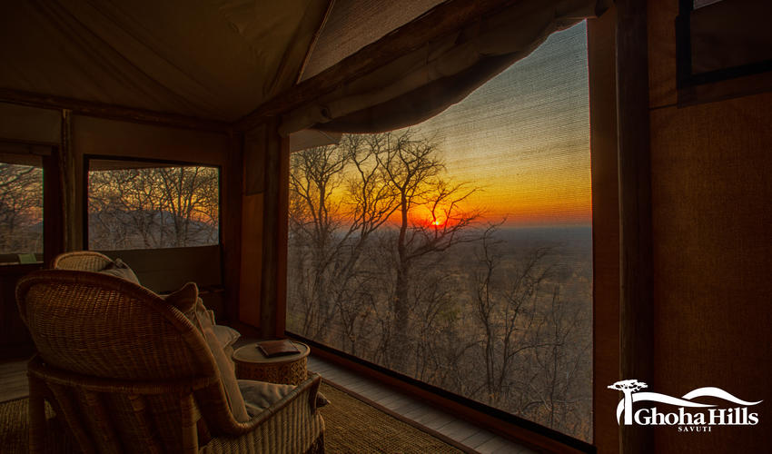 Sunrise from the Room