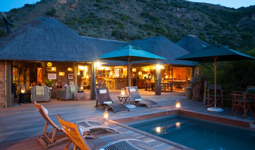 Luxury Tented Safari Camp on Amakhala Game Reserve