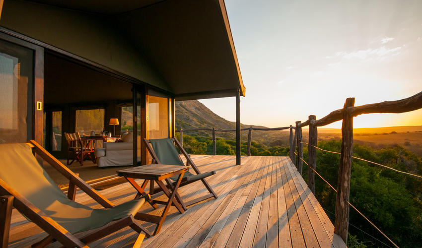 Breathtaking Views from Safari Tents