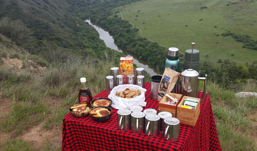 Breakfast on the reserve