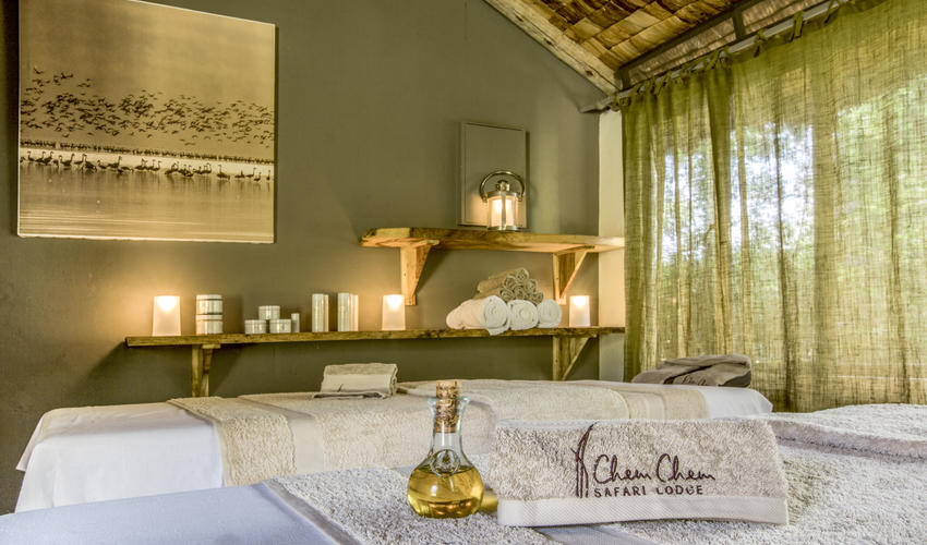 Enjoy a treatment or two after a safari