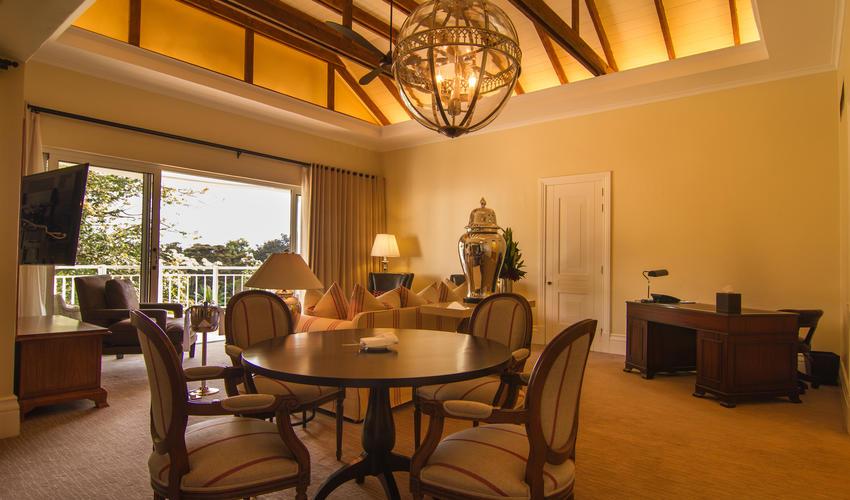 Hemingways Nairobi Blixen Suite Lounge, Office and Dining