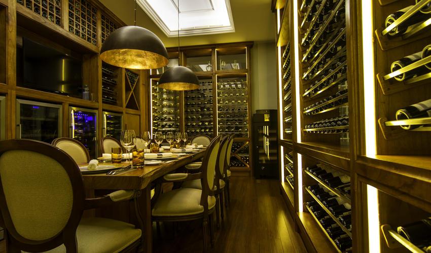 Chef's table Wine Cellar at hemingways Nairobi