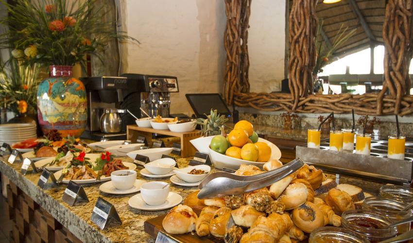 Victoria Falls Safari Club Breakfast Buffet
