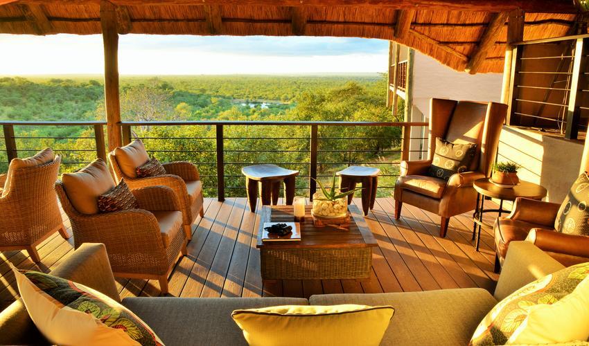 Victoria Falls Safari Club lounge