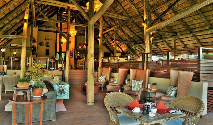 Main hotel area
