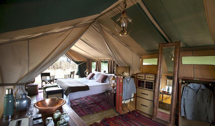 Selinda Explorers Camp Tent Interior