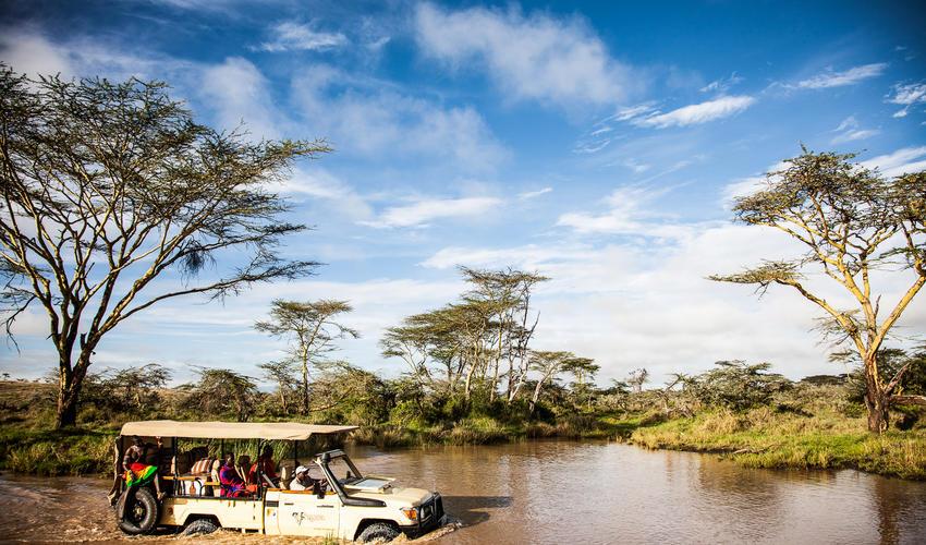 Segera river crossing