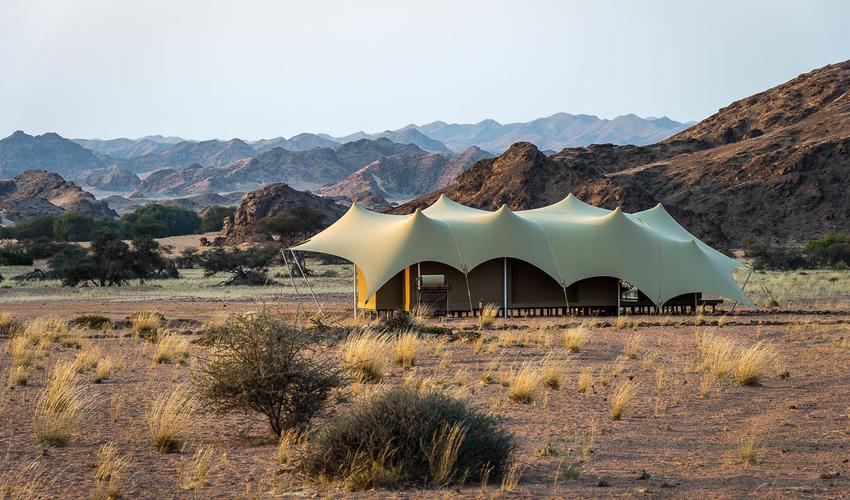 Hoanib guest tent