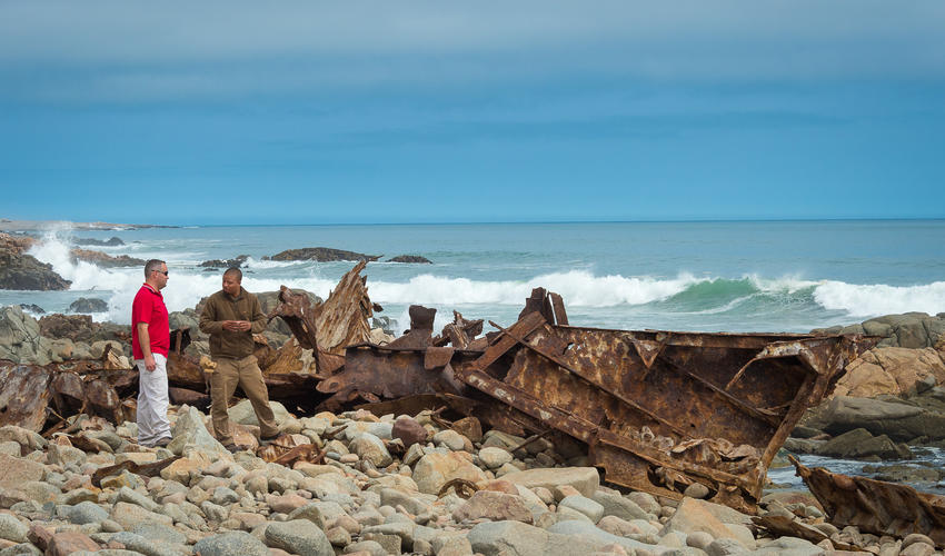 Beach at Skeleton Coast - Mowe Bay