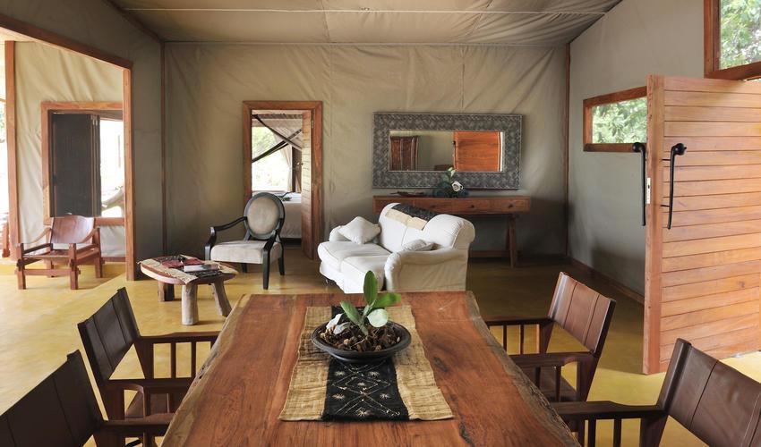 2 ensuite bedroom family tent