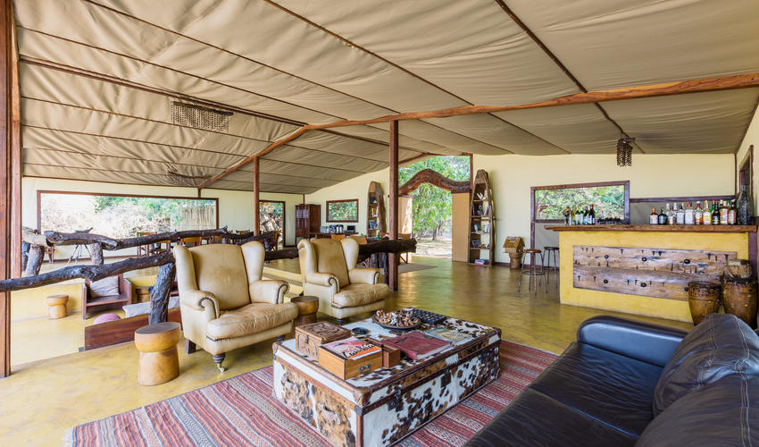 Lounge, Bar & Dining area
