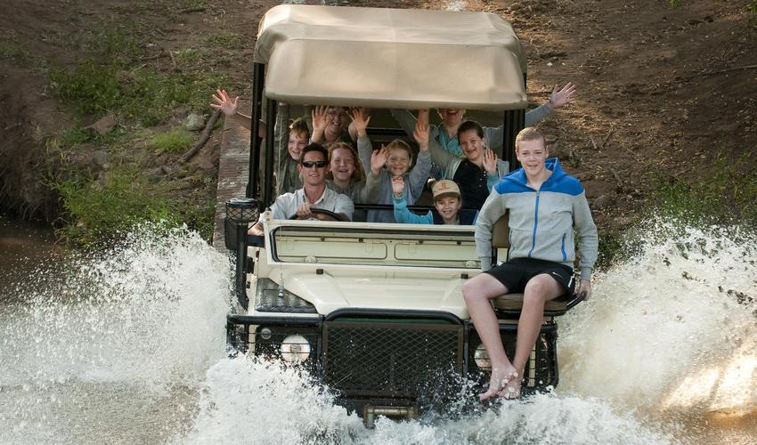 Perfect destination for a family safari