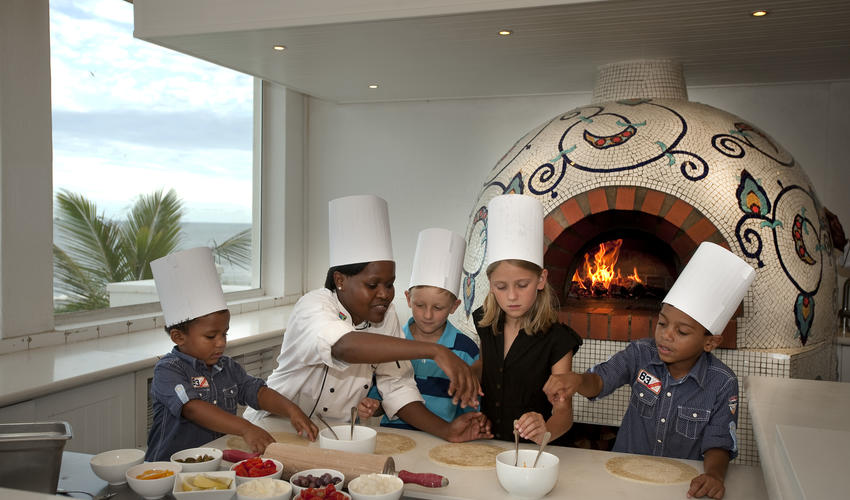 Pizza Making on The Ocean Terrace