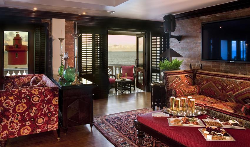 The Lighthouse Bar interiors