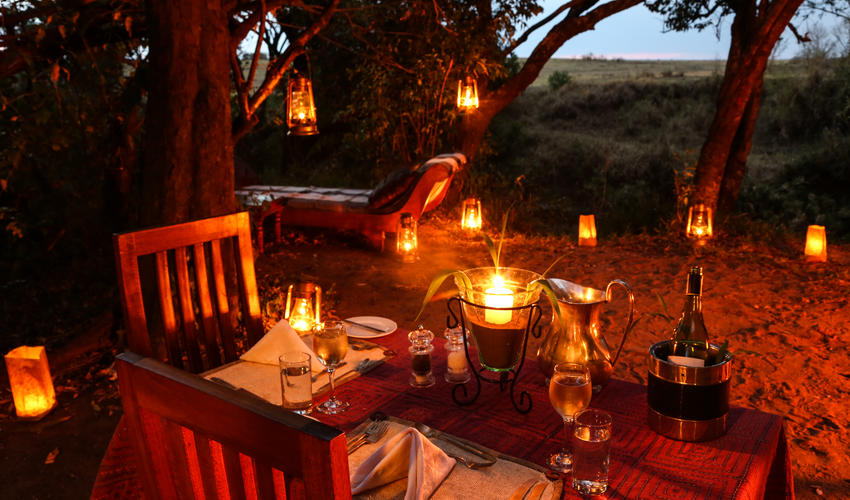 Private Dinner at Mara Expedition