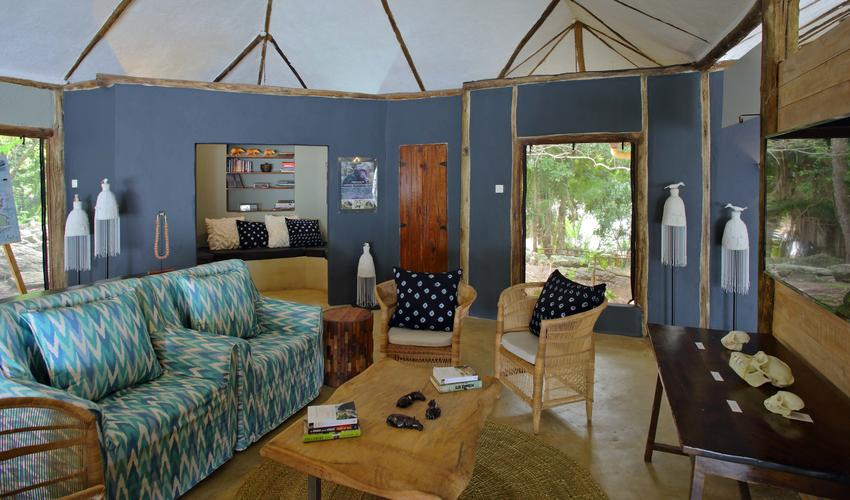 Rubondo Camp - The Nest - Information center on Chimpanzees and other primates