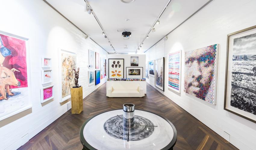 Ellerman House- Art