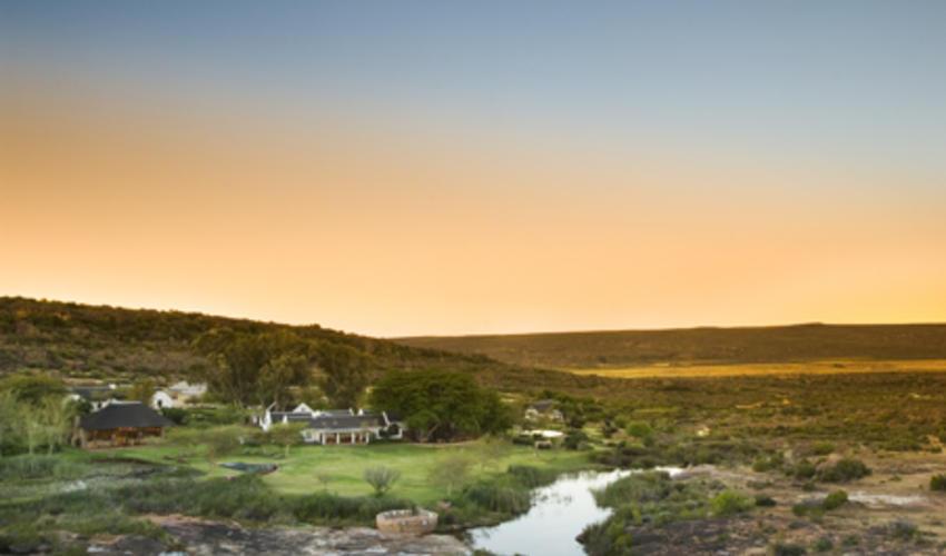 An exterior view of Bushmans Kloof Wilderness Reserve & Wellness Retreat