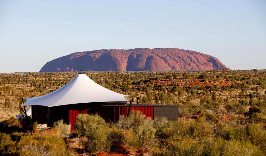 Dune Pavilion & Uluru