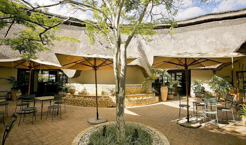 courtyard, Ilala Lodge Hotel