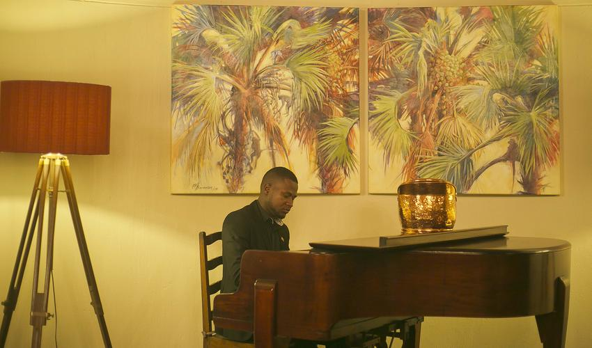 Piano Player, The Palm Restaurant