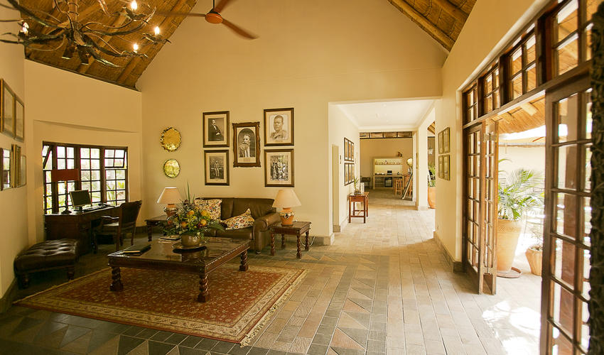 Reception, Ilala Lodge Hotel