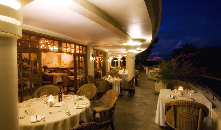 The Palm Restaurant evening lay up - fine dining 4 * Alacarte