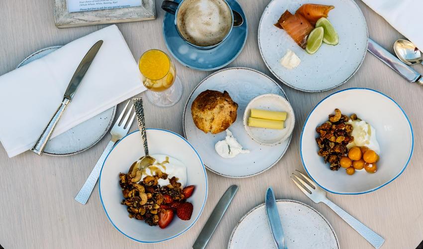Breakfast at Birkenhead House