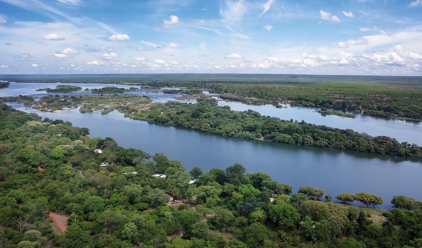 camp on the Zambezi