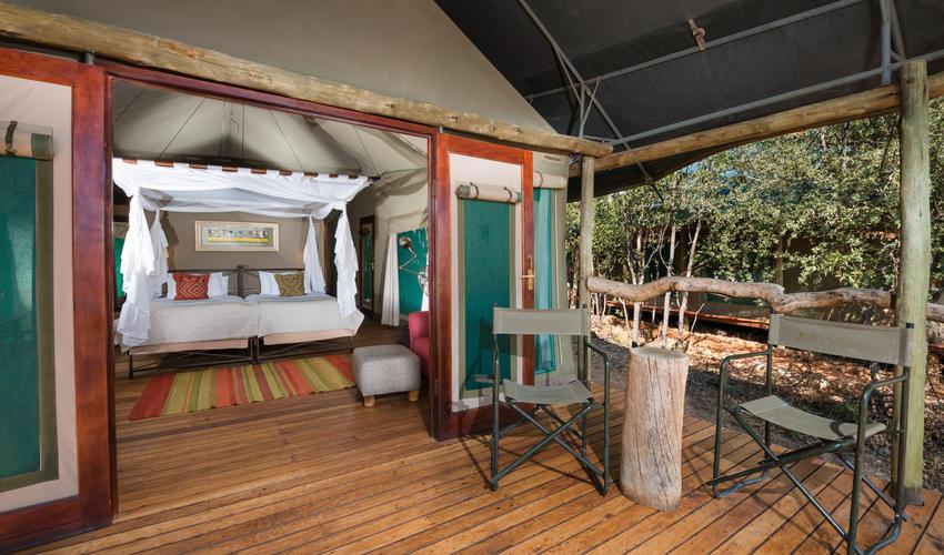 En-suite Meru canvas on deck