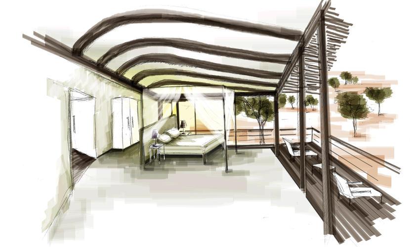 Guest suite interior