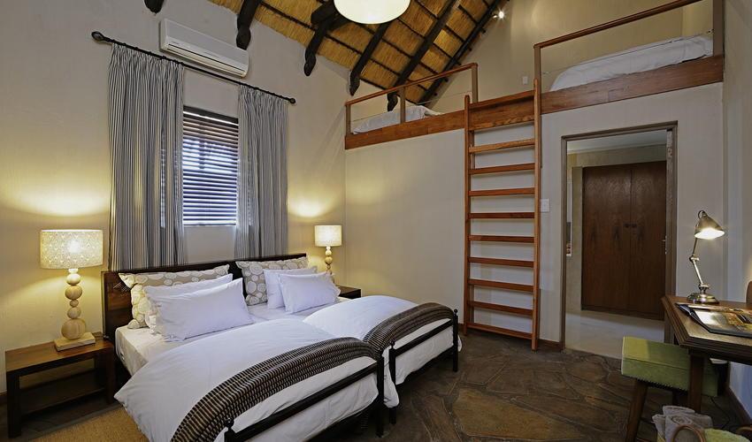 Onguma Bush Camp's Standard Loft room