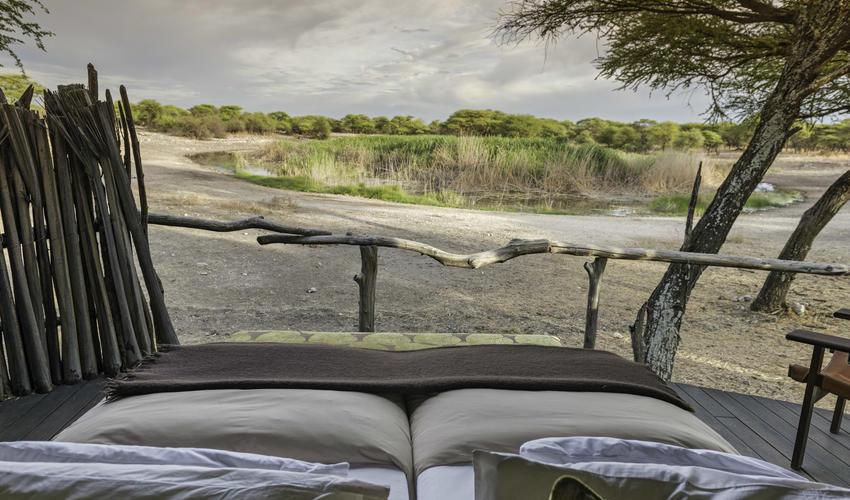 Beautiful views from Onguma Tree Top