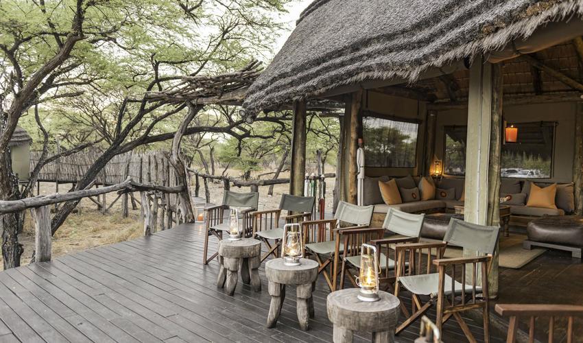 Dining at Onguma Tree Top