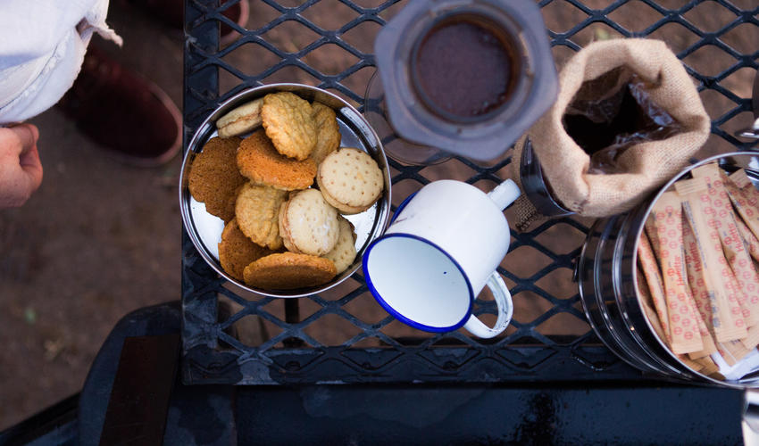 Tea / Coffee / Cookies