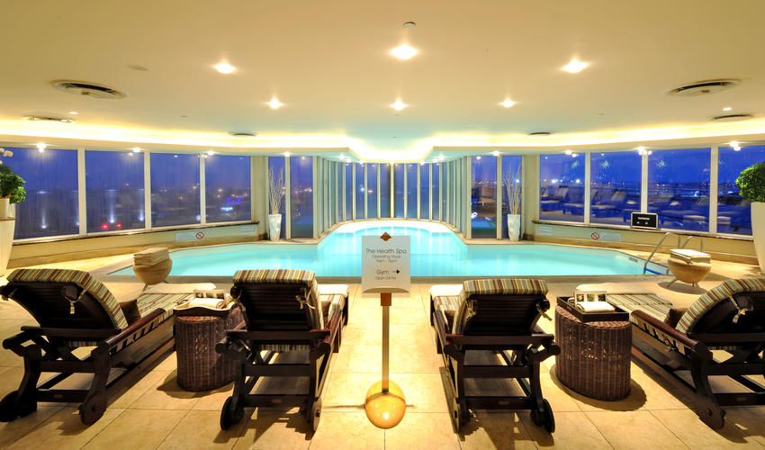Indoor Heated Pool - open 24 hours a day for hotel guests