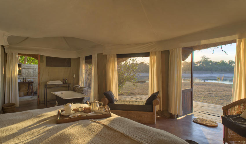 Luxury and style await amid the wild beauty of the South Luangwa