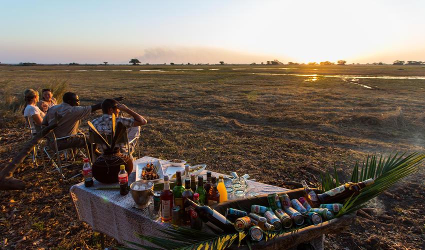 Busanga Plains picnic