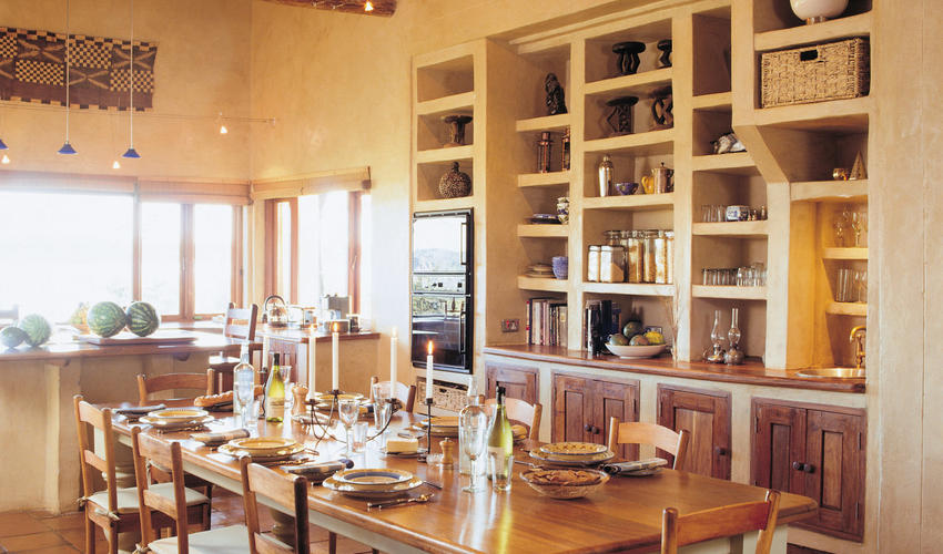 A private chef and waiters at your beck and call