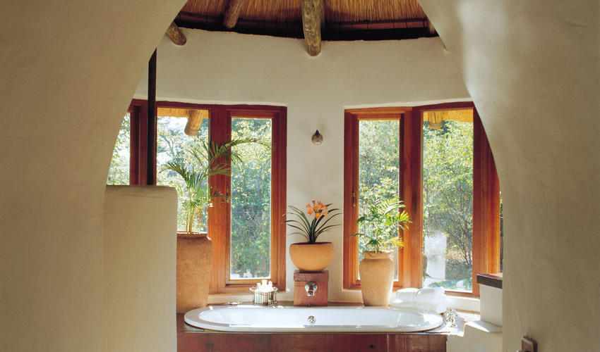 Eclectic design influences from all over Africa