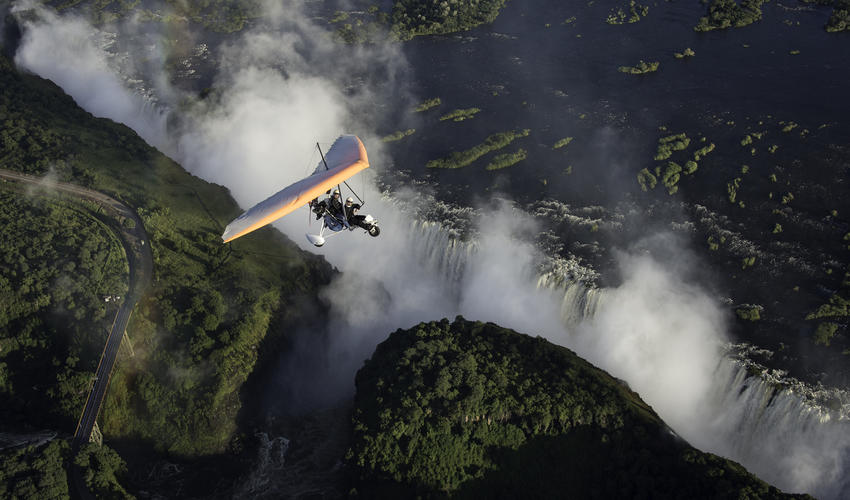 See Victoria Falls from a unique perspective