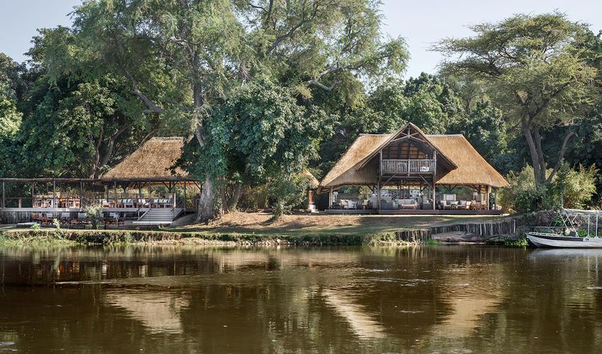 Chiawa Camp - reflections